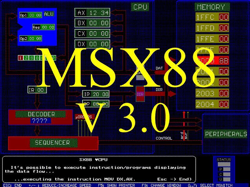 el simulador msx88